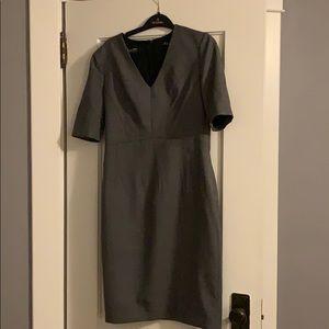Brooks Brothers Birdseye Italian wool dress